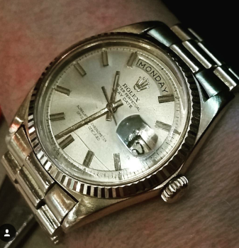 1960's Vintage Rolex in 18K Gold